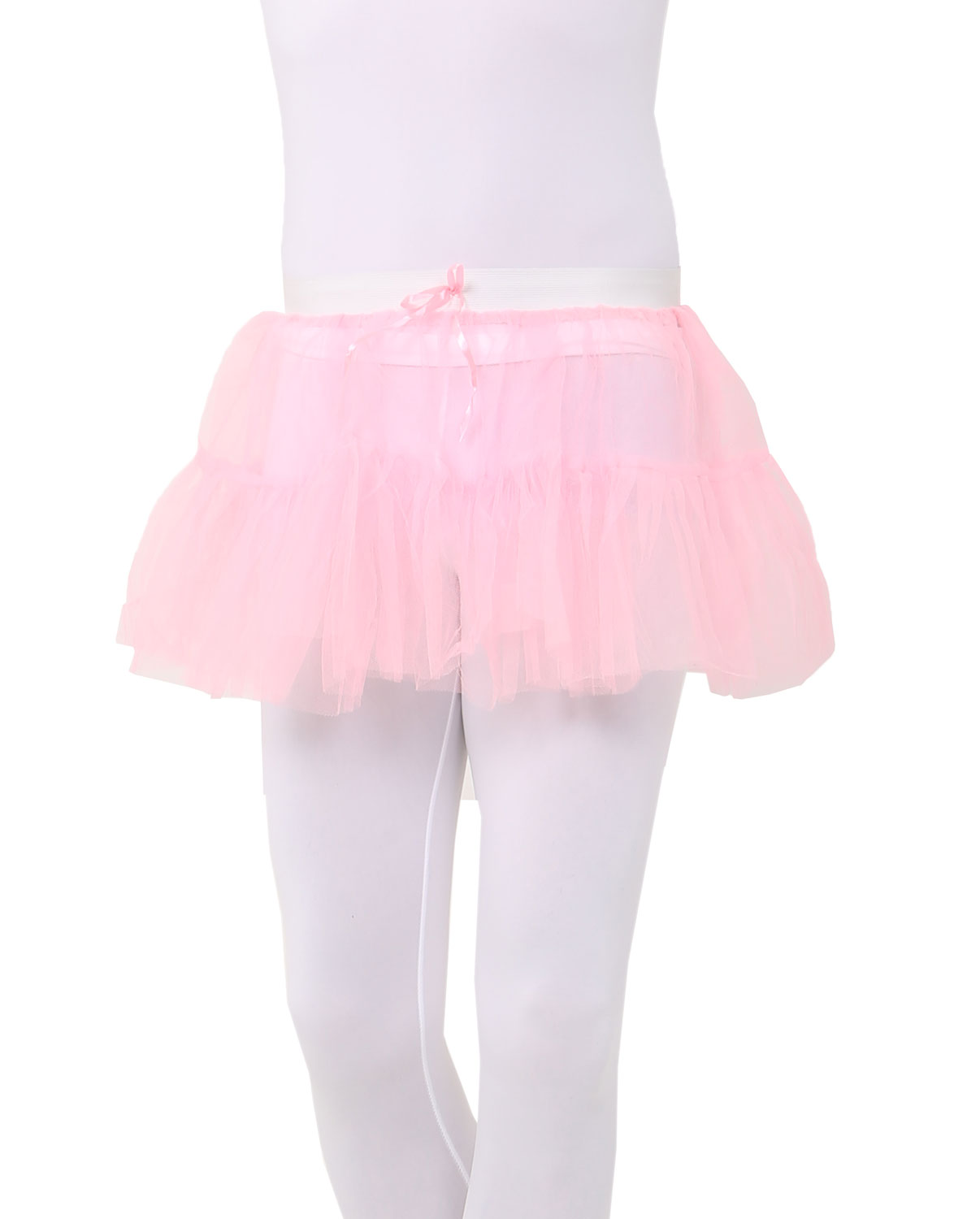 Ladies Party Hen do Moulin Rouge Layered Long Bustle Tail Back Tutu Burlesque