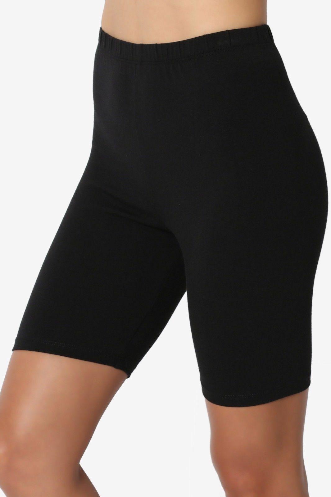 Crazy Chick Women Black Microfibre Cycling Shorts