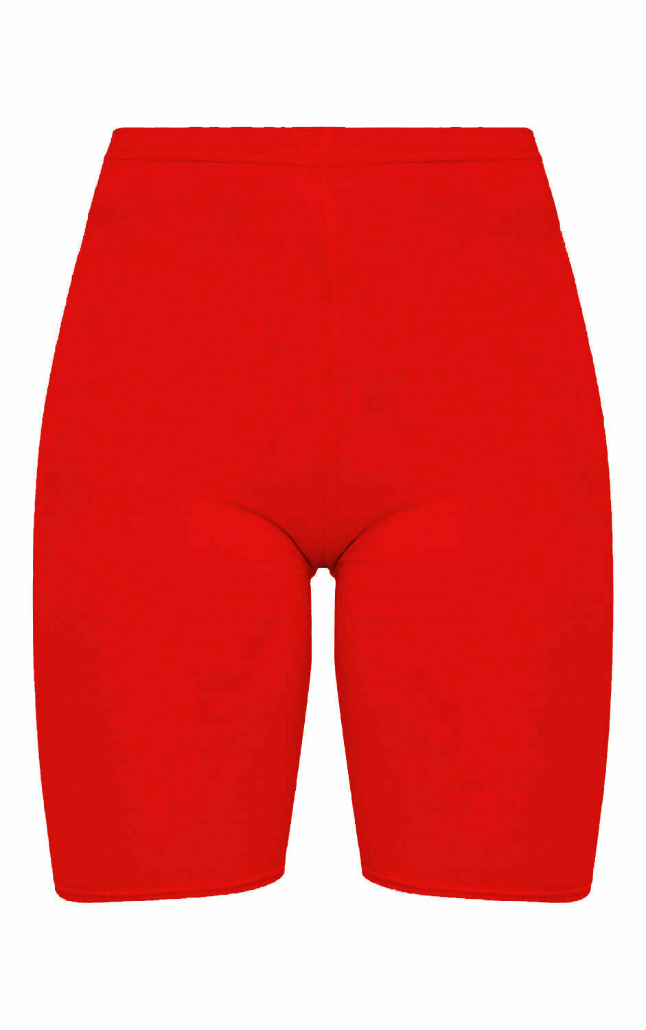 Crazy Chick Women Red Microfibre Cycling Shorts