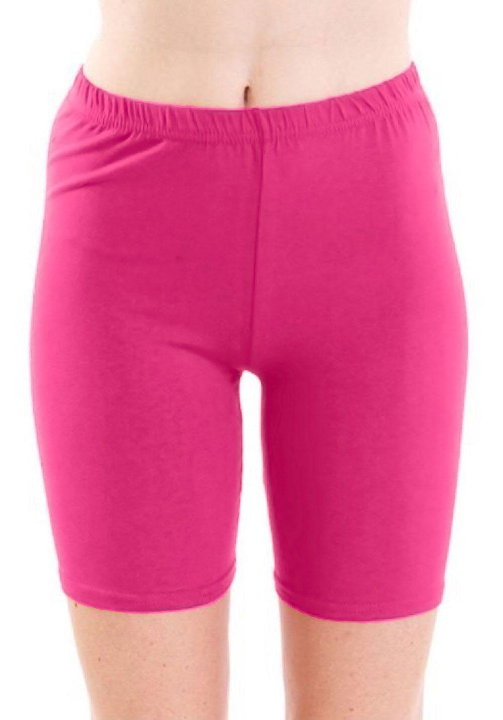 Crazy Chick Women Pink Microfibre Cycling Shorts